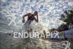 Swim Exit of an Athlete at the sprint race of…