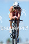 Gina Crawford on the bike at the 2014 Challenge Kraichgau…