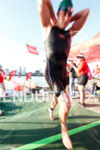 Dustin McLarty (AUS) first man out of the water at…