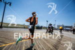 Fredrik Croneborg (SWE) runs on boardwalk at the Challenge Atlantic…