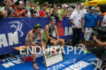 Ivan Rana and Christian Kramer (l-r) at the finish of…