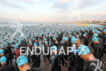 NICE, France : 2,800 triathletes dive in Mediterranean Sea at…