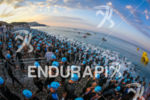 Start of the 2014 Ironman France, Nice, on June 29th,…
