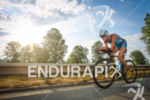 Jeanne Colonge during the bike leg of the 2014 Ironman…