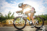Katy Blakemore during the bike leg of the 2014 Ironman…