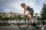 Jose Jeuland during the bike leg of the 2014 Ironman…