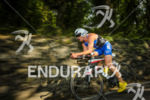 Tyler Butterfield during the bike leg of the 2014 Ironman…