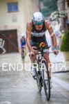Mathias Hecht during the bike leg of the 2014 Ironman…