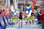 Sebastian Kienle at the finish at the Ironman European Championship…
