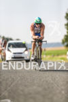 Pete Jacobs during the bike leg at the Challenge Datev…
