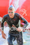 Nils Frommhold exits the water at the 2014 Challenge Roth…