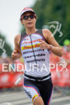 Rachel Joyce running at the 2014 Challenge Roth in Roth,…