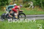 Kristin Moeller on the bike at the 2014 Ironman Switzerland…