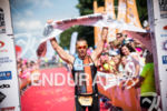 Craig Twigg wins 2014 Outlaw Triathlon in Nottingham, England, UK,…