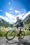 Renaldo Colluci during the bike leg of the EDF Alpe…