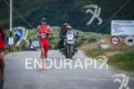 Todd Skipworth during the run leg of the Alpe d'Huez…