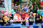 Bart Aernouts at the finish at the Ironman 70.3 European…