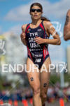 Sarah Groff running at the 2014 ITU Grand Final Edmonton…