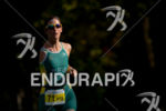 Paratriathlete running at the 2014 ITU Grand Final Edmonton in…