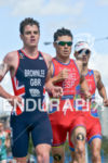 Javier Gomez running at the 2014 ITU Grand Final Edmonton…