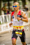 Pedro Gomes closing on the run at Ironman Wisconsin 2014…