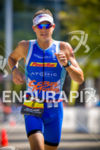 Thomas Gerlach runs steady  at Ironman Wisconsin 2014 in Madison,…