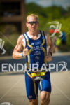 Nick Early looking strong on the run  at Ironman Wisconsin…