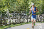 Lionel Sanders running at the 2014 Ironman 70.3 World Championships…