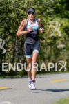 Annabel Luxford running at the 2014 Ironman 70.3 World Championships…