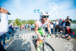 Daniel Niederreiter on the on the bike at the 2014…