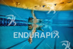 Jan Frodeno during a swim training session at Aquatic Center…