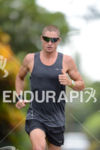 Luke McKenzie on a run workout on Alii Drive for…