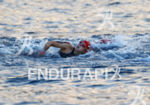 Miranda Carfrae during the swim portion of the 2014 GoPro…