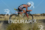 Richie Cunningham during the bike portion of the 2014 GoPro…