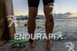 Pro Athlete during the swim portion of the 2014 Ironman…