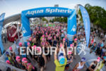 Age group wave of the 2014 Ironman 70.3 Miami in…