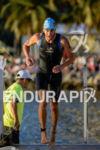 Michael Raelert during the swim portion of the 2014 Ironman…