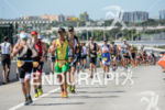 Age groupers during the run portion of the 2014 Ironman…