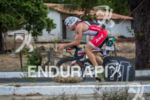 Balazs Csoke during the bike portion of the 2014 Ironman…