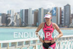 Caroline Gregory during the  swim portion of the 2014 Ironman…
