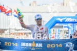 Eneko Llanos finishes second at the 2014 Ironman Fortaleza in…