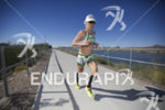 Heather Jackson during the run at Ironman Arizona on November…