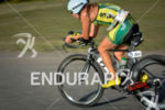 Haley Chura during the bike portion of the 2014 Challenge…