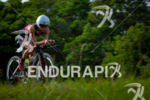 Ana Borba during the bike portion of the 2014 Challenge…