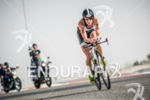 Annabel Luxford during the bike portion of the 2014 Challenge…