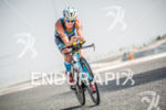 Melissa Hauschildt during the bike portion of the 2014 Challenge…