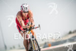 Lisa Norden during the bike portion of the 2014 Challenge…