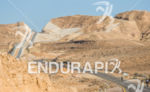 Scenic bike course goes along the Egyption border at the…