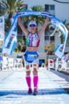 Martina Dogana (ITL) is the 1/2 distance champion at the…