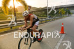 Viktor Zyemtsev during the bike portion of the 2015 Ironman…